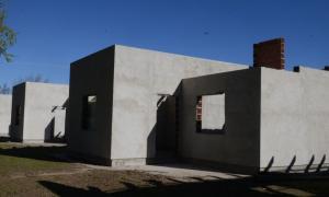 Construcción de viviendas en General Villegas