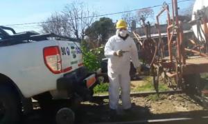 Polémicas fumigaciones con glifosato en Bragado