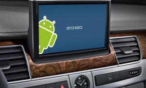 Google lanzó una nueva plataforma para consolas de automóviles
