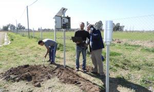 El innovador sistema ya funciona en las zonas más afectadas por las lluvias. Foto: Prensa