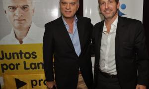 Frigerio y Grindetti estarán juntos en Lanús.