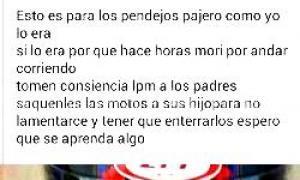 Captura de pantalla del Facebook de Gaspar./ Foto: Noticias Baradero