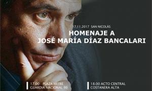 Homenaje a Díaz Bancalari en San Nicolás