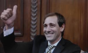 Julio Garro juró en el Concejo Deliberante y adelantó medidas.