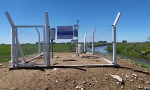 Nuevas estaciones hidrometeorológicas en cuencas del Arroyo del Azul y Tapalqué