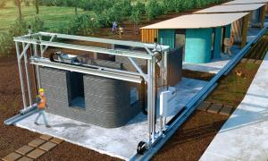 Proyectan crear una mega impresora 3D para construir viviendas sociales (UNLP)