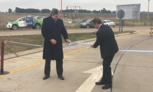Inauguraron las obras de la Ruta Provincial N°67 entre Puán y Pigüé
