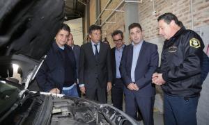 Posse y Ritondo inauguraron una planta verificadora de automotores en San Isidro