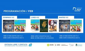 Espacio INCAA Quilmes abre la temporada 2019 con gran oferta de películas