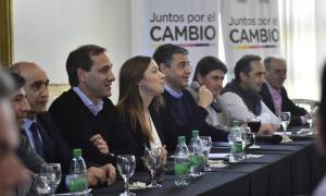 Tras reunión con Kicillof, Vidal se sumó al Foro de intendentes de Juntos por el Cambio en Gonnet