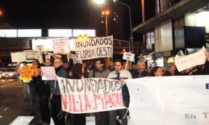 Inundados de Vicente López organizan un debate.