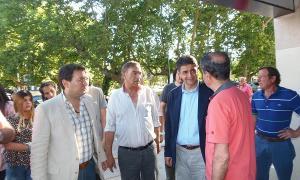 Jorge Macri recorrió la localidad.