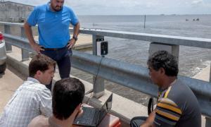 El nuevo sistema fue instalado en la Laguna Mar Chiquita y en la Laguna de Gómez.