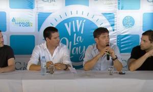 """Axel Kicillof en la presentación del programa """"Recreo"""""""