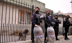 La vivienda de Ríos, en Quilmes Oeste, sigue con custodia.