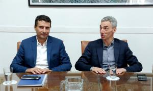 El concejal de San Miguel Franco La Porta fue designado titular de la Administración de Puertos