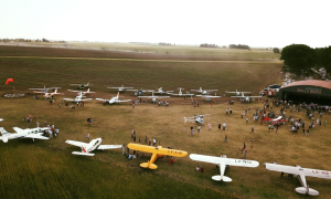 General La Madrid: Reinauguraron el aeródromo