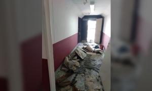 """Incendio """"intencional"""" en el municipio de Lanús, según autoridades"""