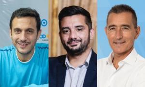Julián Álvarez (ex viceministro de Justicia), Agustín Balladares (Jefatura de Gabinete) y Omar Galdurralde (titular de Lotería y Casinos) serán los cabezas de lista.