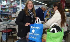 Promueven el reemplazo de bolsas plásticas por biodegradables