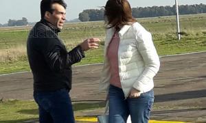 López le reprochó a Vidal por el cierre del casino.
