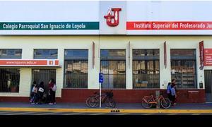 El hecho ocurrió en el COlegio San Ignacio de Loyola.