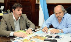 Luciani se reunió con Granados. Foto: Prensa Ministerio de Seguridad.