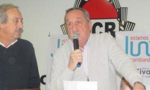 Civalleri junto al intendente Miguel Lunghi