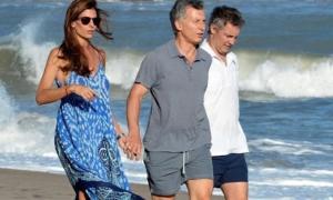 Macri estuvo 157 días de vacaciones como presidente.