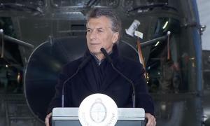 Macri encabezó el acto en Campo de Mayo.