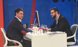 Jorge Macri habló con el periodista Diego Leuco en TN.