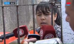 Yanina pidió justicia por su hija Sheila.