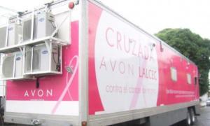 El mamógrafo móvil de la Fundación Avon sigue recorriendo el país