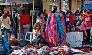 Los centros comerciales se vieron repletos de gente y hubo disturbios - Foto Página 12