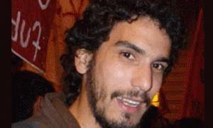 El militante asesinado, Mariano Ferreyra.