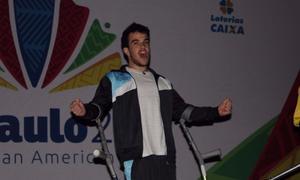 Rodrigo Villamarín obtuvo una medalla dorada histórica. Foto: 0223