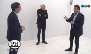 Massa y Santilli se cruzaron en un programa de TV.