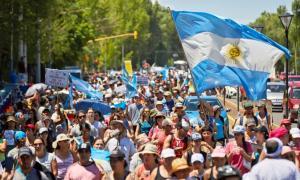 Masiva Movilización en las calles de Mendoza