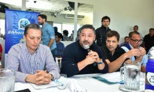 Gray y Menéndez, máximas autoridades del peronismo bonaerense.