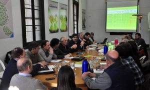 El ministro Sarquis encabezó el encuentro.