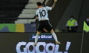 Copa América 2021: Argentina y Chile empataron 1 a 1, con un golazo de Messi de tiro libre