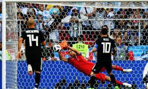 Con un penal errado por Messi, Argentina e Islandia empataron 1 a 1 en #Rusia2018