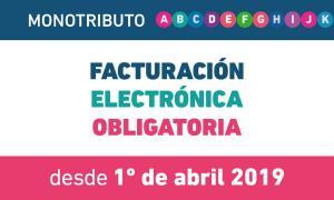 Monotributo: Factura electrónica obligatoria para todas las categorías desde este 1° de abril