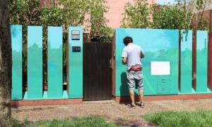 """""""Mercedes Se Pinta"""": Veintidós artistas pintaron murales para embellecer la ciudad"""