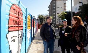 """Jorge Macri: """"Siempre tratamos de ponerle color y arte al espacio público"""""""