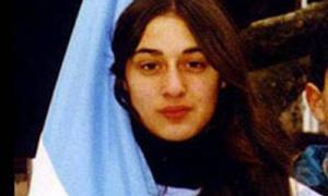 Melmann, de 15 años, fue brutalmente asesinada en febrero de 2001.