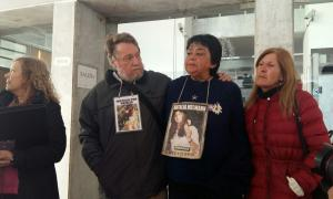 Los padres de Natalia esperan por justicia.