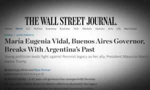 El artículo publicado por The Wall Street Journal.