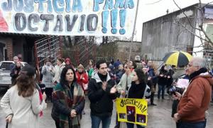 Última marcha en reclamo de Justicia. Foto: Noticias Marcos Paz