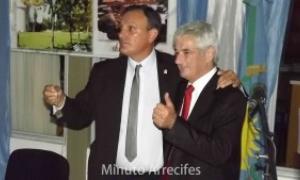 Olaeta asumió como Intendente. Foto: MinutoArrecifes